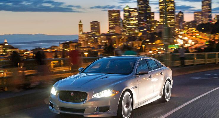 Jaguar XJR, Seattle, Frontansicht