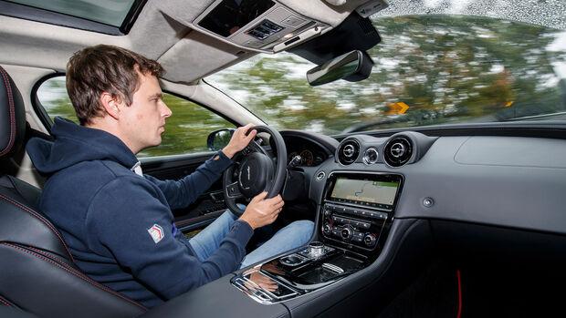 Jaguar XJR575 Fahrbericht SPERRFRIST 25.10.2017 / 00.01 Uhr
