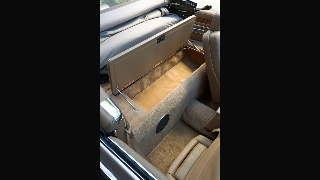 Jaguar XJS 5.3 V12 Convertible, Baujahr 1992, Gepäckraum