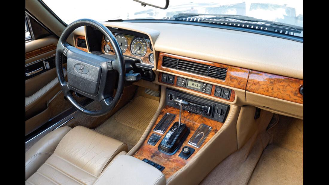Jaguar XJS 5.3 V12 Convertible, Baujahr 1992, Innenraum