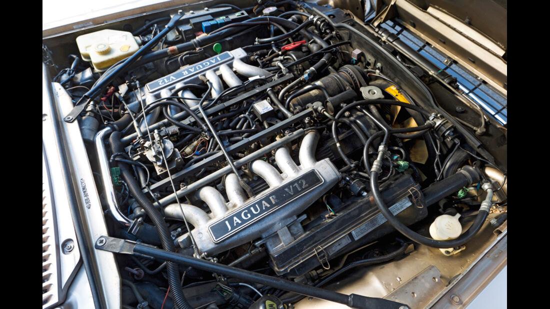 Jaguar XJS 5.3 V12 Convertible, Baujahr 1992, Motor