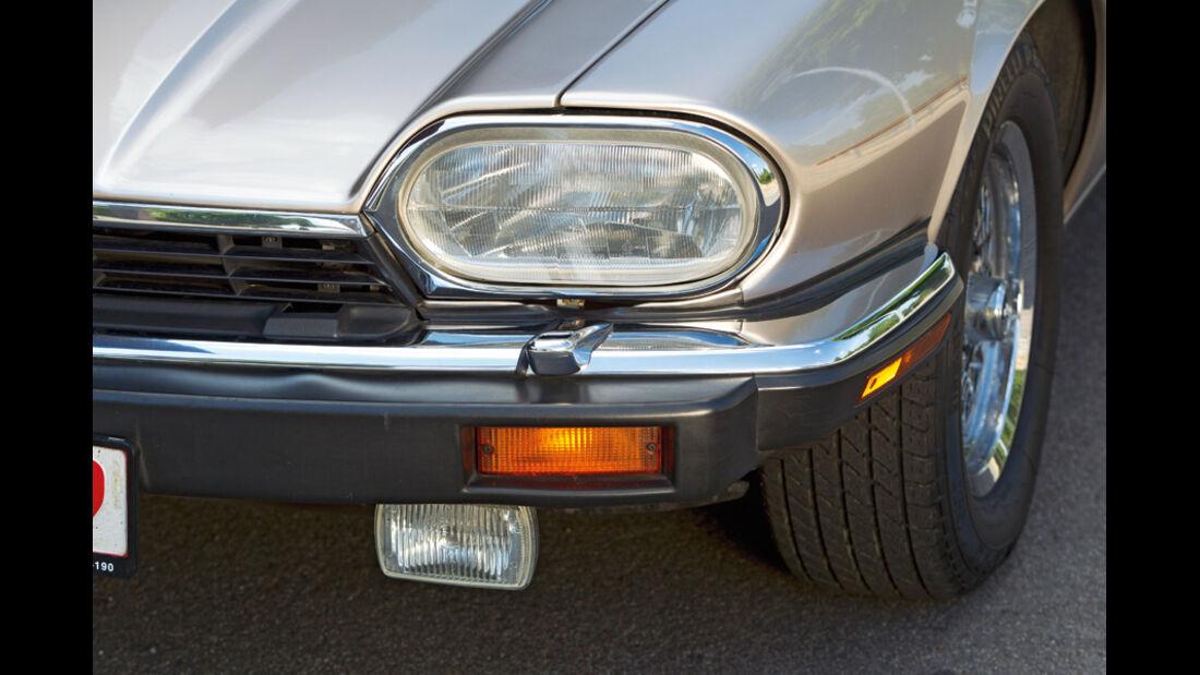 Jaguar XJS 5.3 V12 Convertible, Baujahr 1992, Scheinwerfer