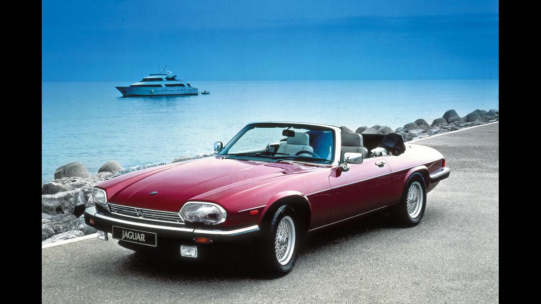 Jaguar XJS Cabrio, Frontansicht