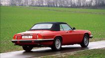 Jaguar XJS Cabrio, Heckansicht