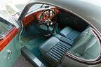 Jaguar XK 120 Fixed Head Coupé (FHC), Baujahr 1951, Innenraum