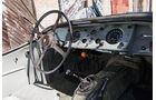 Jaguar XK 140, Cockpit, Lenkrad