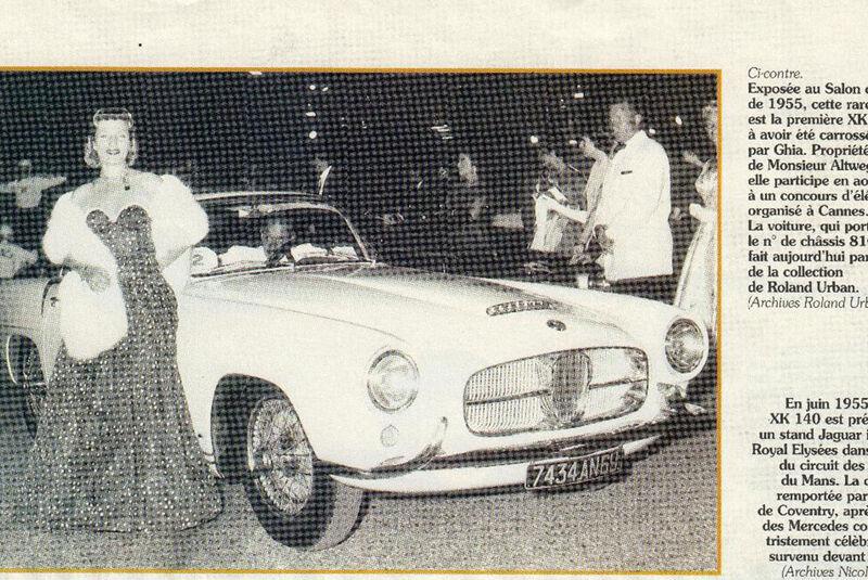 Jaguar XK 140 Coupé Ghia (1955)