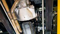 Jaguar XK 140, Unterboden