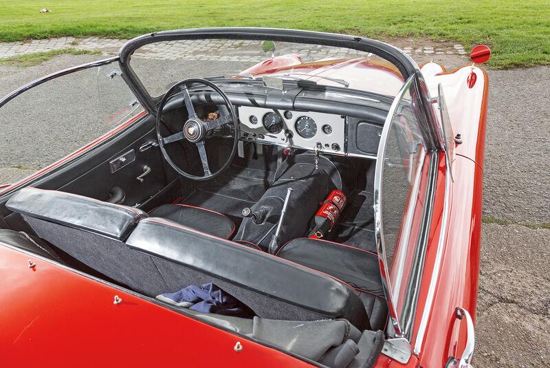 Jaguar XK 150 S OTS, Cockpit