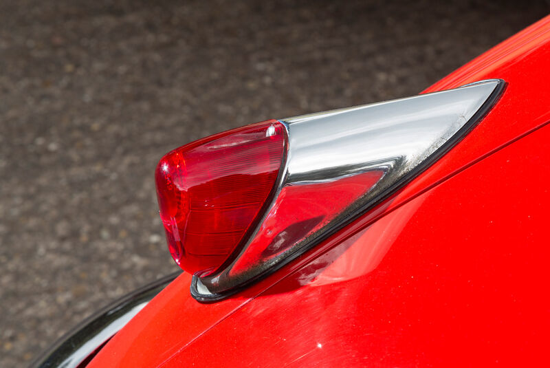 Jaguar XK 150 S OTS, Heckleuchte