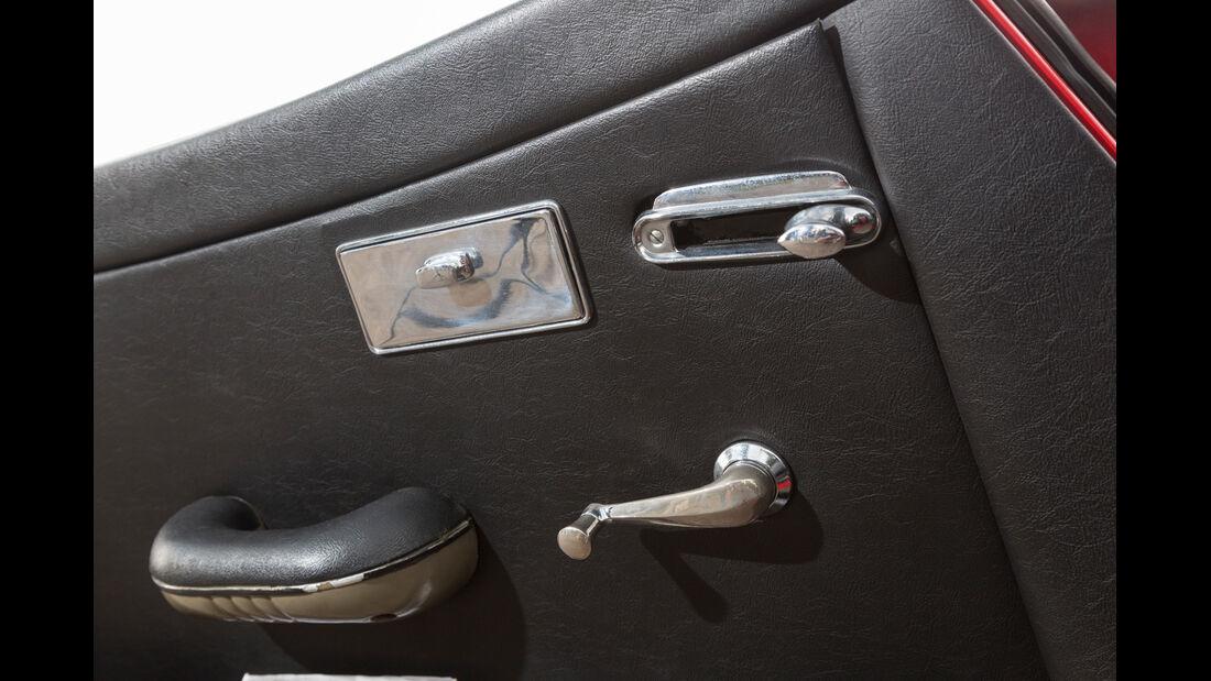 Jaguar XK 150 S OTS, Türinnenseite