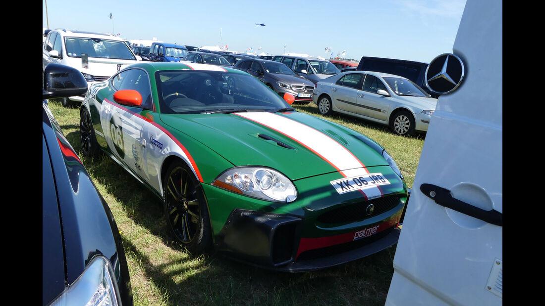 Jaguar XK - Carspotting - Fan-Autos - 24h-Rennen Le Mans 2017