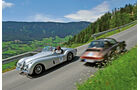 Jaguar XK, Porsche 911 Targa