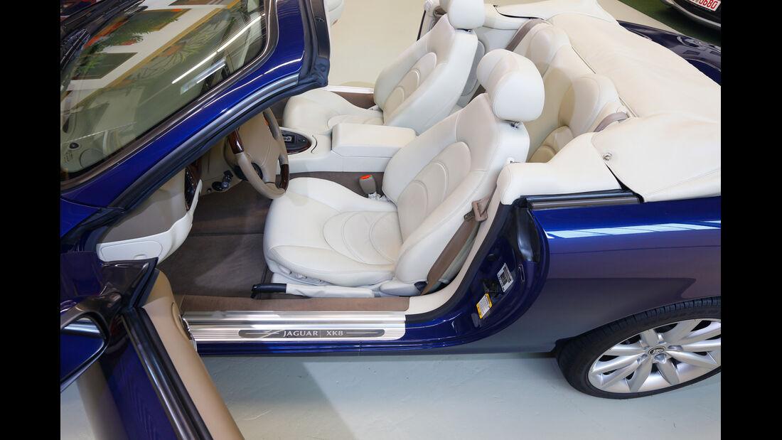 Jaguar XK, Sitze, Innenraum