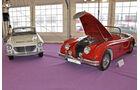 Jaguar XK140 und BMW 700 LS Cabriolet, Autos der Coys-Auktion auf dem AvD Oldtimer Grand-Prix 2010