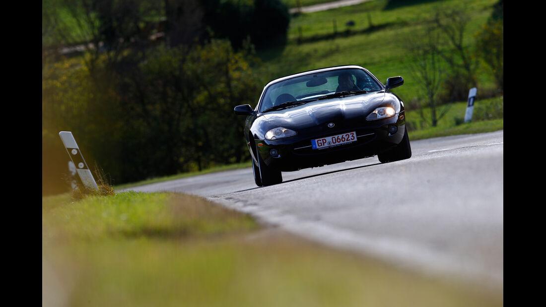 Jaguar XK8, Frontansicht