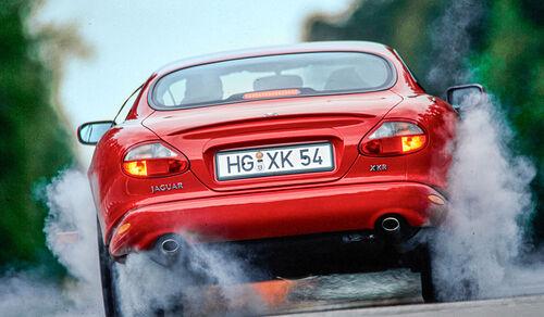 Jaguar XK8, Heck