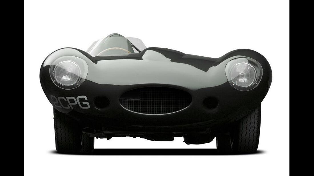 Jaguar XKD, 1955