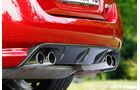 Jaguar XKR-S Cabrio, Auspuff, Endrohre