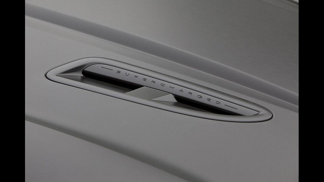 Jaguar XKR-S Cabrio, Detail