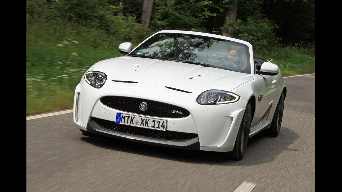 Jaguar XKR-S Cabrio, Frontansicht