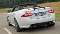 Jaguar XKR-S Cabrio, Heckansicht