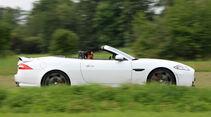 Jaguar XKR-S Cabrio, Seitenansicht
