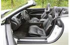 Jaguar XKR-S Cabrio, Vordersitze, Innenraum