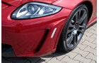 Jaguar XKR-S Coupe, Luftschlitz, Vorderrad, Frontscheinwerfer