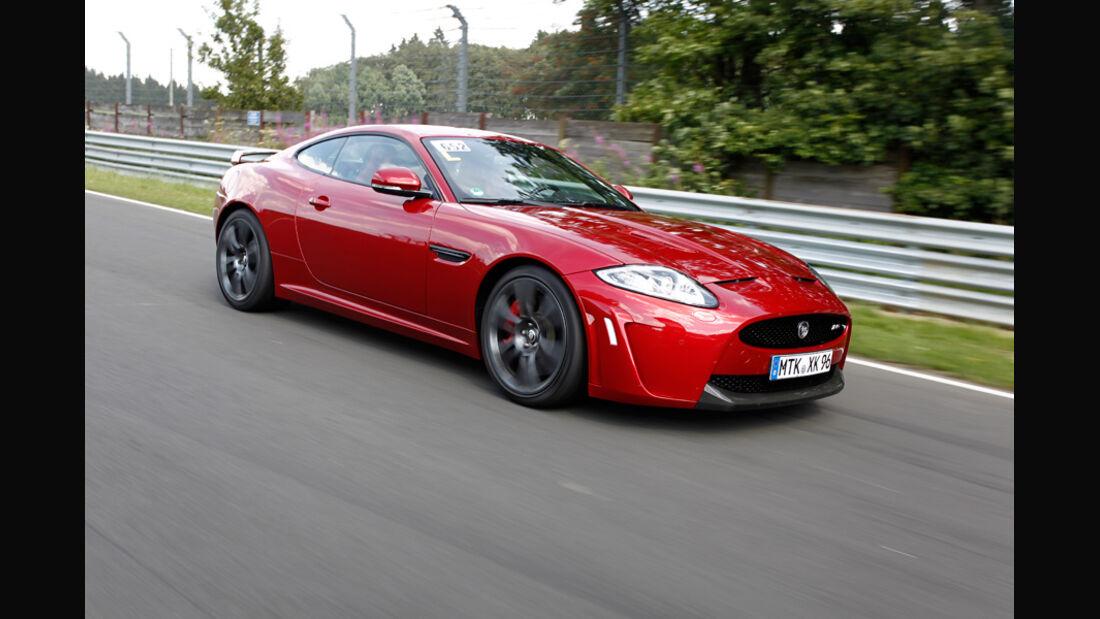 Jaguar XKR-S Coupe, Seitenansicht