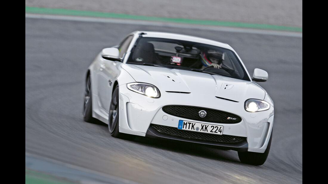 Jaguar XKR-S, Frontansicht