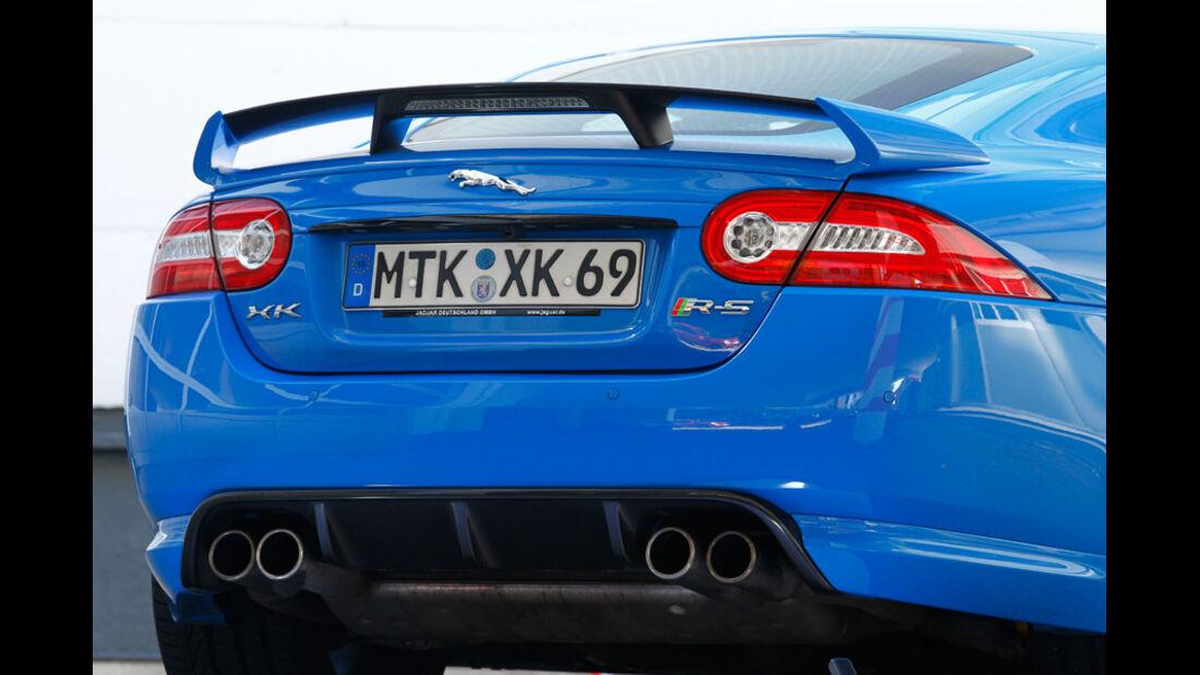 Jaguar XKR-S, Heckspoiler