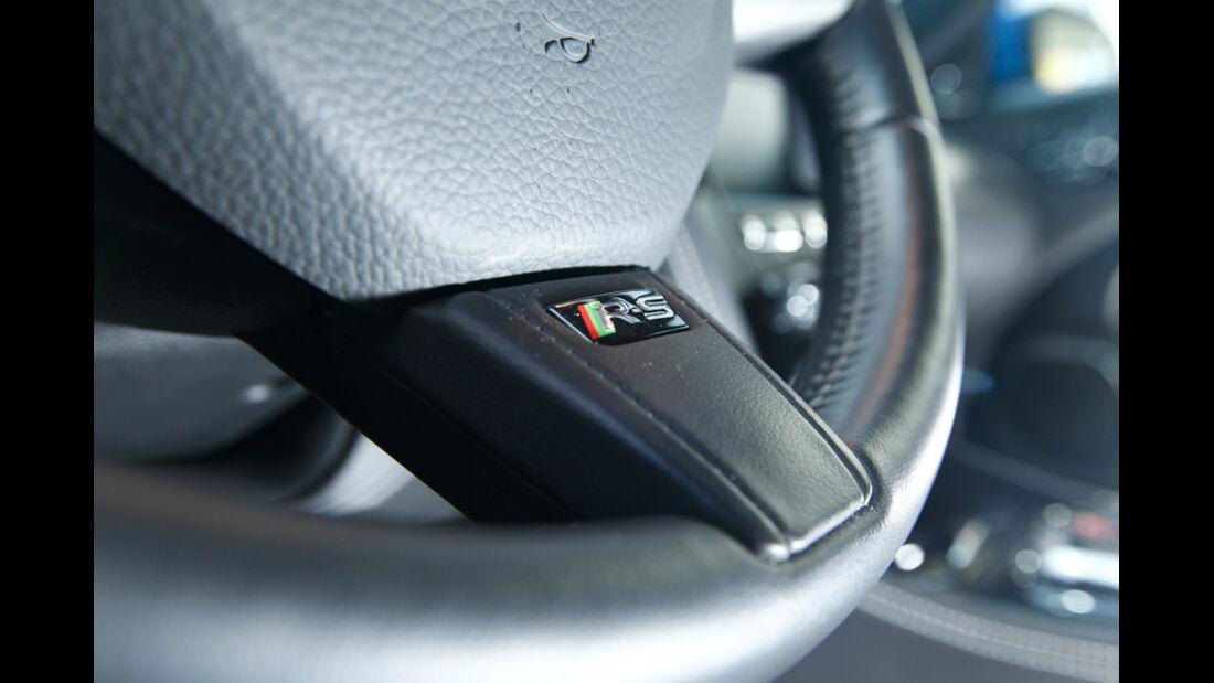 Jaguar XKR-S, Lenkrad, Detail