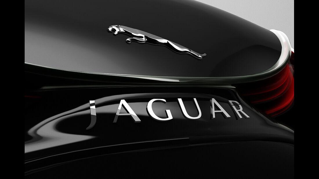 Jaguar XKX, Designstudie, Logo, Markenemblem