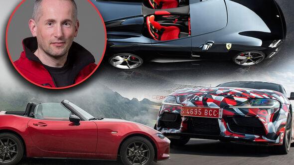 Jahresrückblick Sportwagen Uli Baumann Top 3 Collage