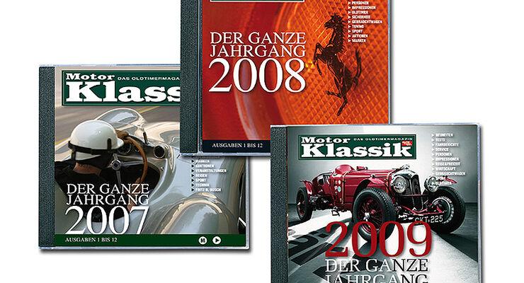 Jahrgangs CD 2009 2008 2007 motorklassik