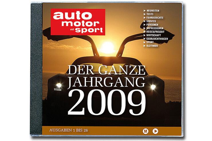 Jahrgangs CD 2009 auto motor und sport