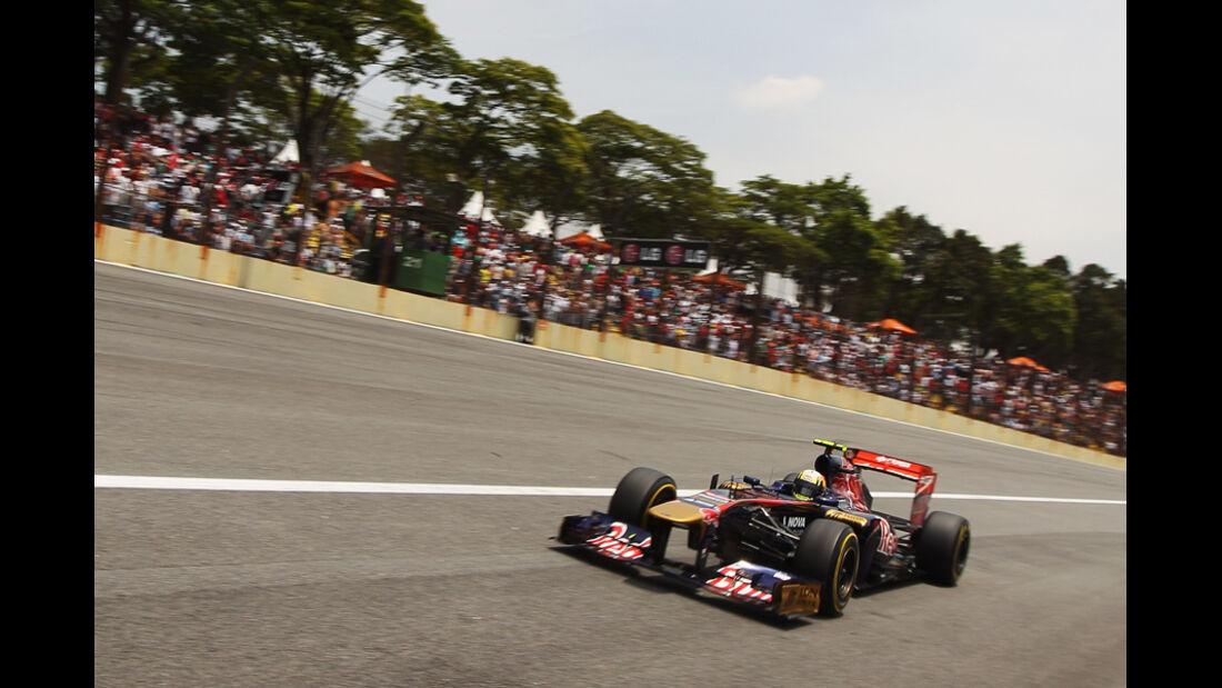 Jaime Alguersuari GP Brasilien 2011