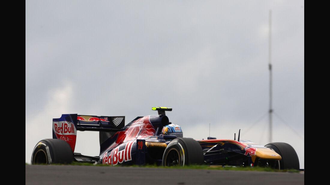 Jaime Alguersuari GP Deutschland 2011 Noten