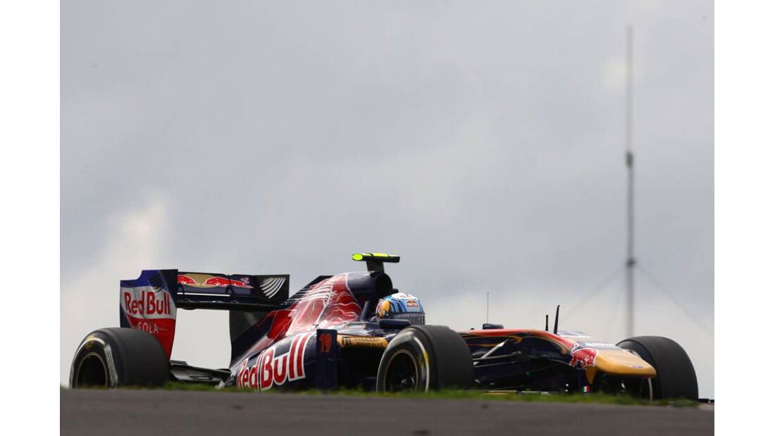 Jaime Alguersuari - GP Deutschland - Nürburgring - 22. Juli 2011