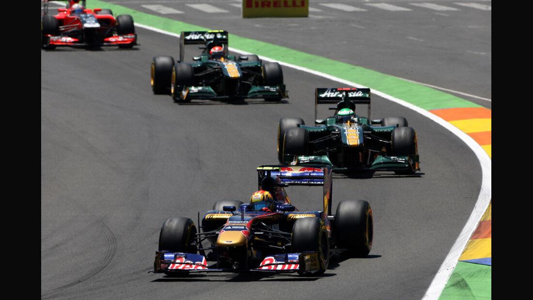 Jaime Alguersuari GP Europa Valencia 2011