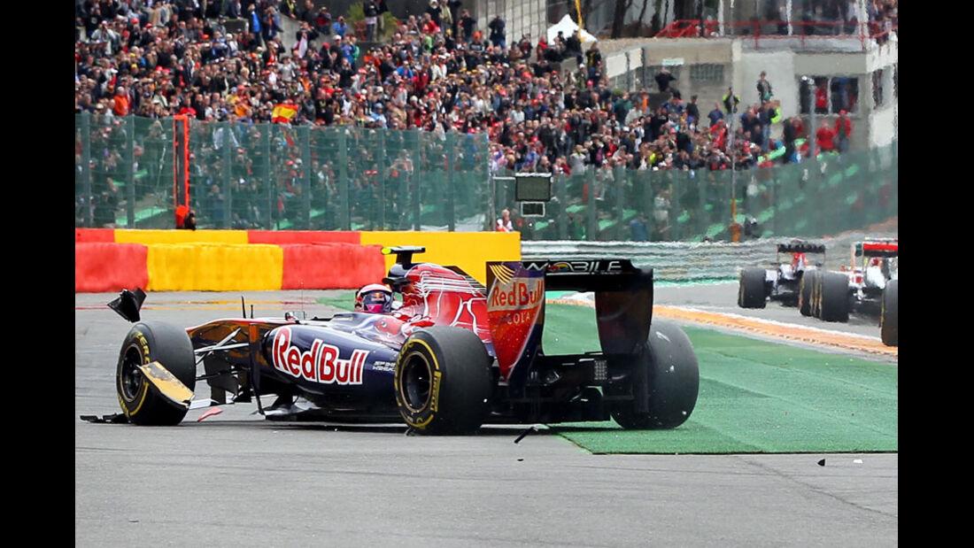 Jaime Alguersuari Rennen GP Belgien 2011
