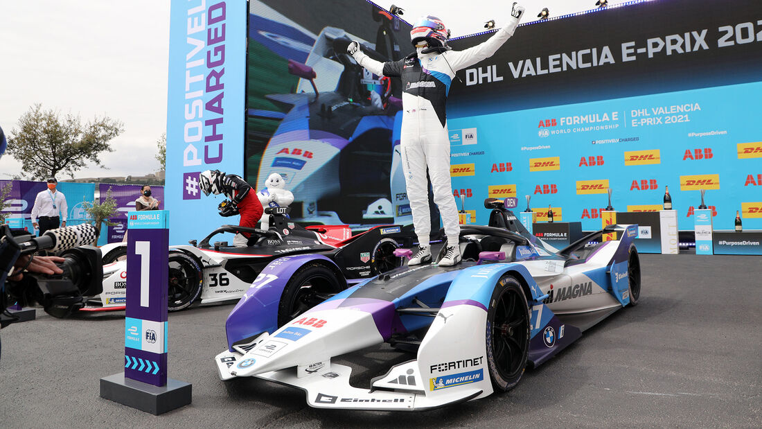 Jake Dennis - Formel E - Valencia - 2021