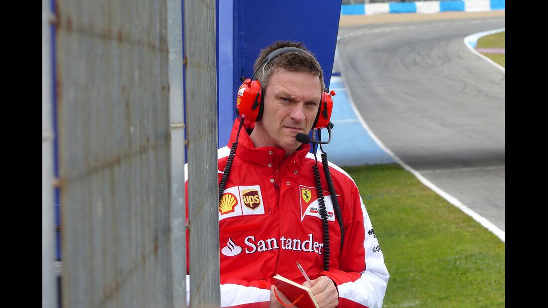 James Allison - Ferrari - Formel 1-Test - Jerez - 2. Februar 2015