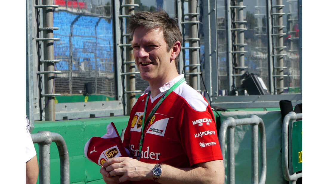 James Allison - Ferrari - GP Australien - Melbourne - 16. März 2016