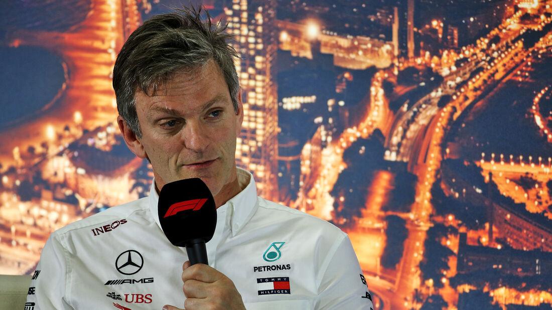 James Allison - Mercedes - F1 - Formel 1 - Testfahrten 2020