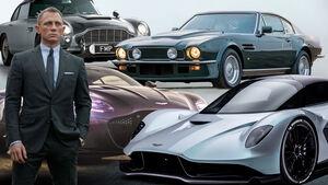 James Bond Keine Zeit zu Sterben Aston Marton Autos Film