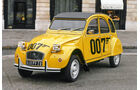 James-Bond-Stunts, Impression, Historie, Bond-Cars