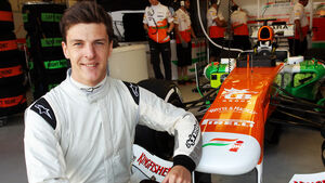 James Calado Force India 2013