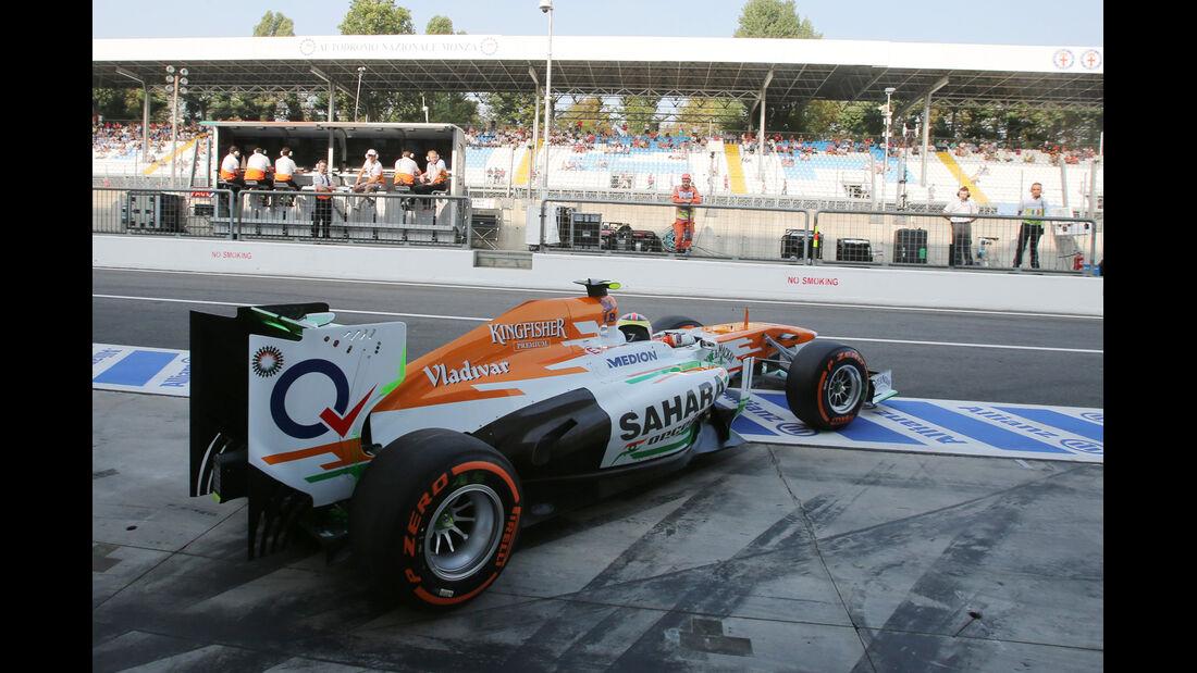James Calado - Force India - Formel 1 - GP Italien - Monza - 6. September 2013